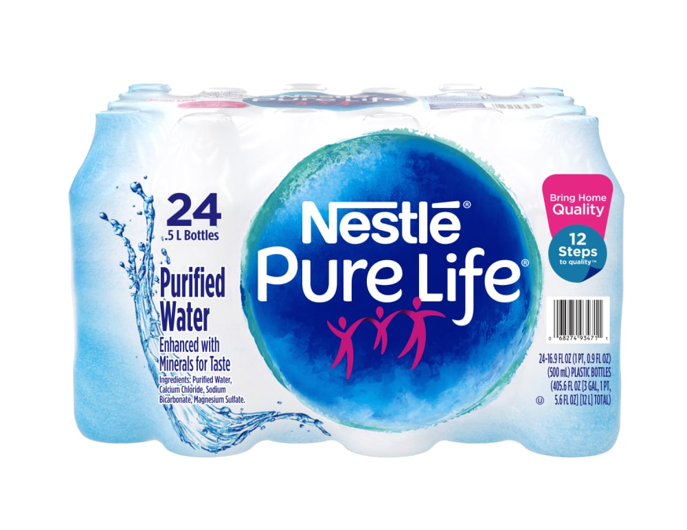 Ralphs - Nestle Pure Life Purified Water, 24 ct / 16 9 fl oz
