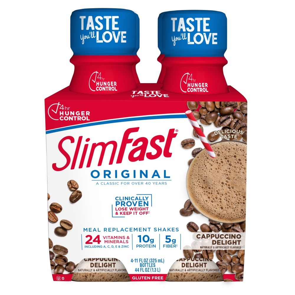 SlimFast Original Cappuccino Delight