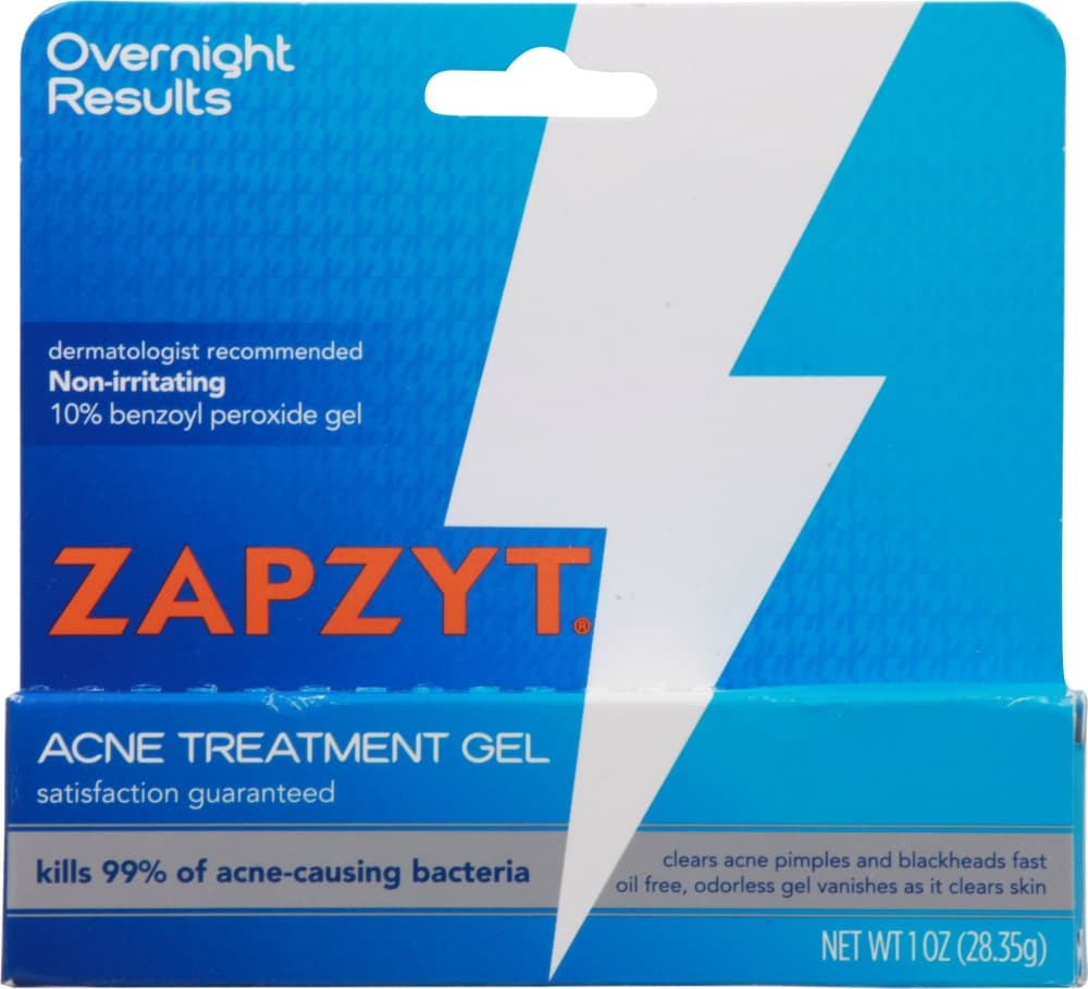 Kroger Zapzyt Acne Treatment Gel 1 Oz