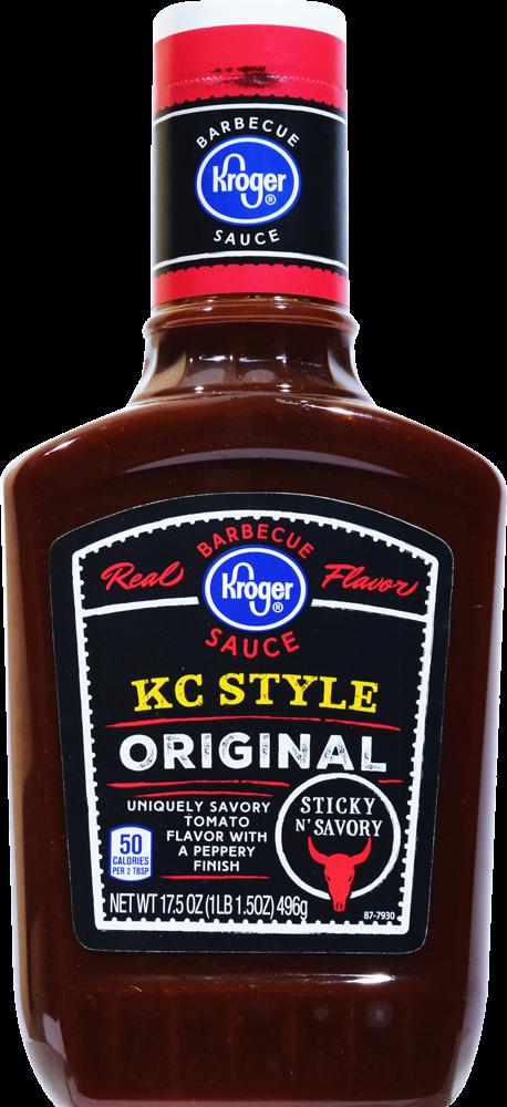 Kroger Kroger Kc Style Original Barbecue Sauce 17 5 Oz