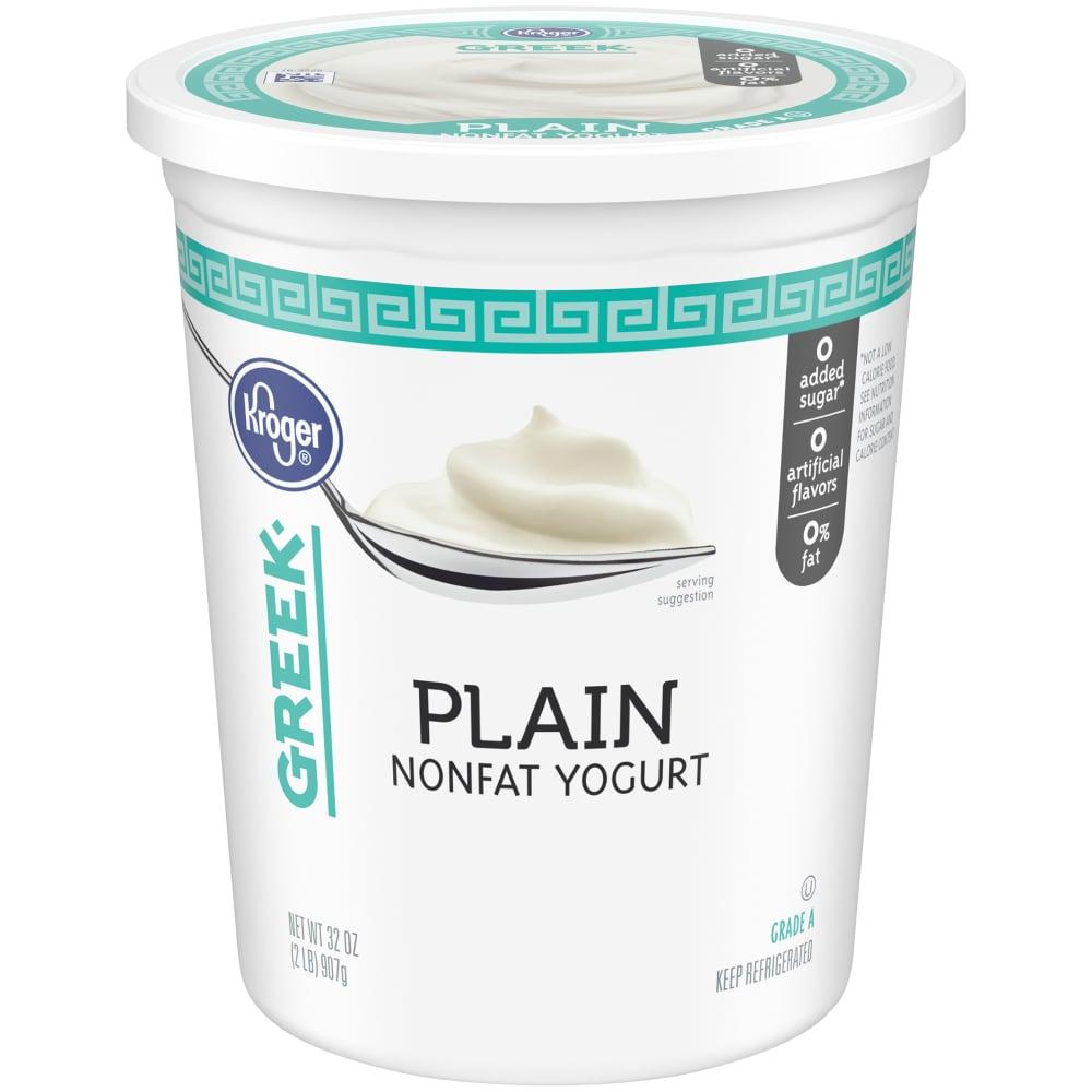Kroger® Greek Plain Nonfat Yogurt