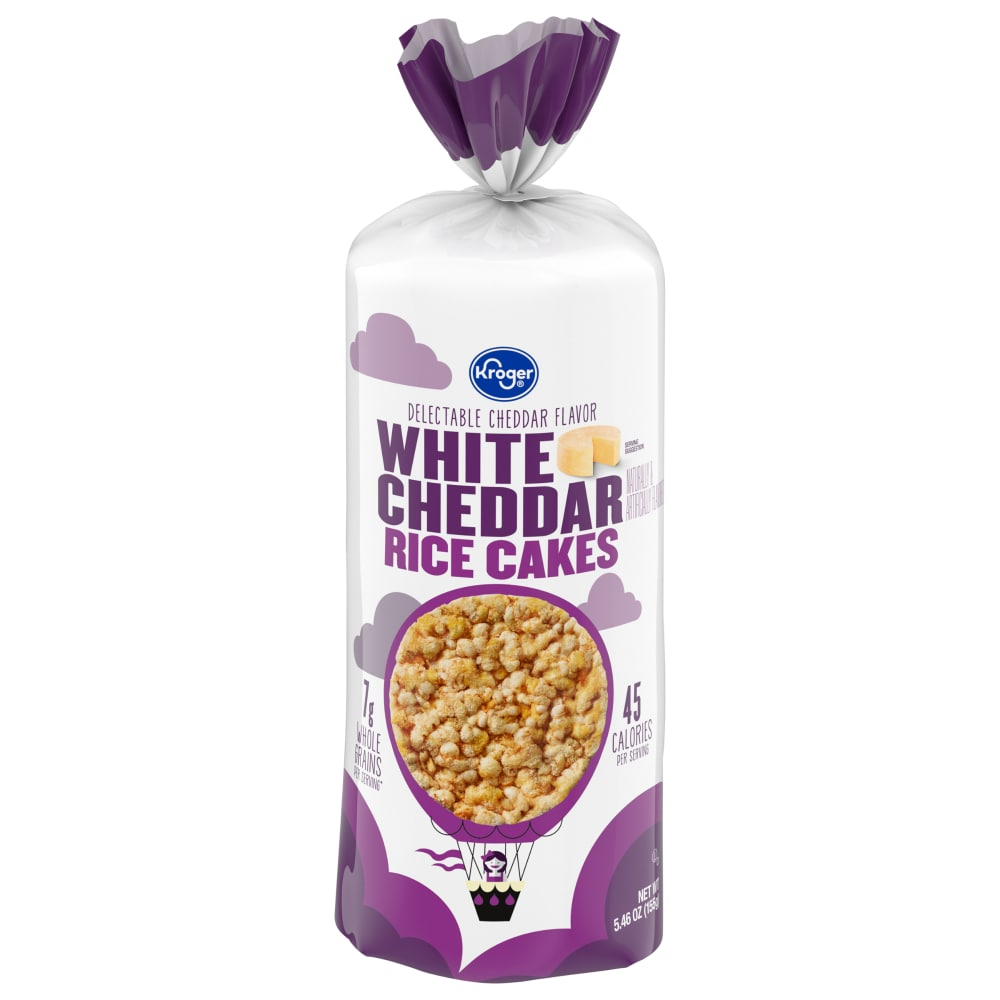 KrogerR White Cheddar Rice Cakes