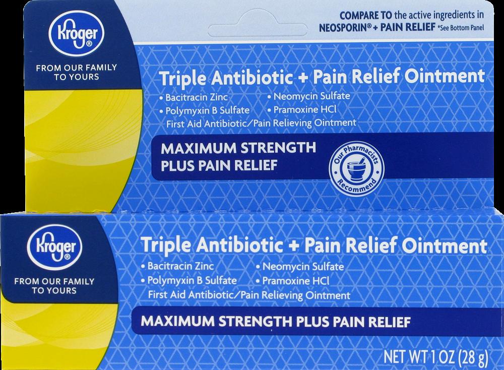 Foods Co  - Kroger® Max Strength Triple Plus Antibiotic