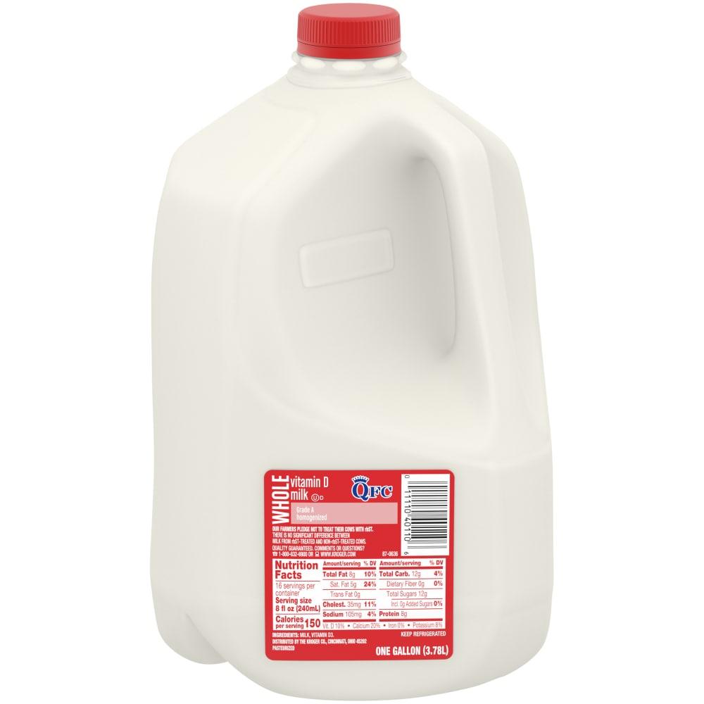 Qfc Qfc Vitamin D Whole Milk 1 Gal