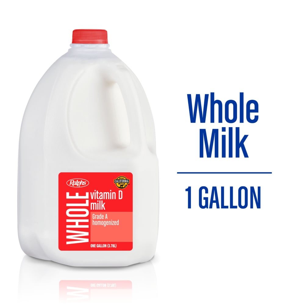 Ralphs - Ralphs Vitamin D Whole Milk, 1 gal