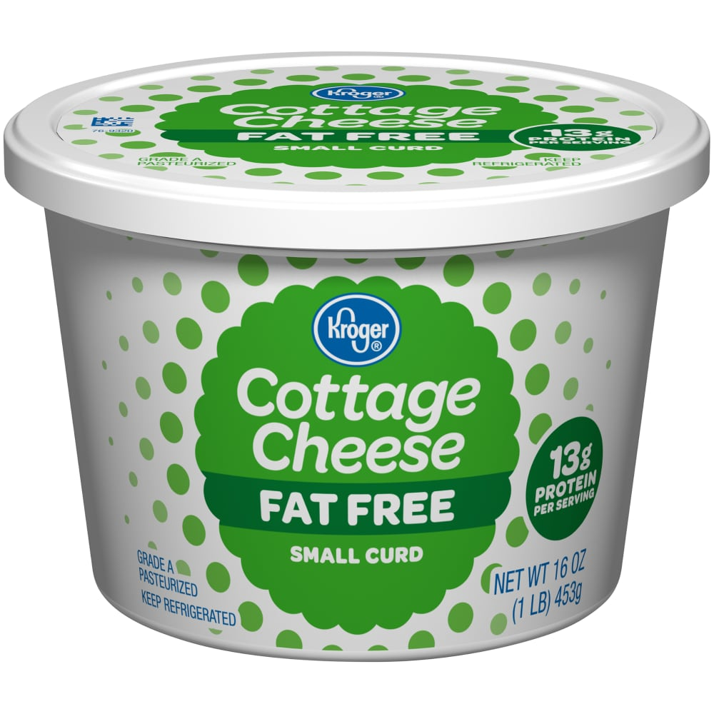 calories in fat free cottage cheese