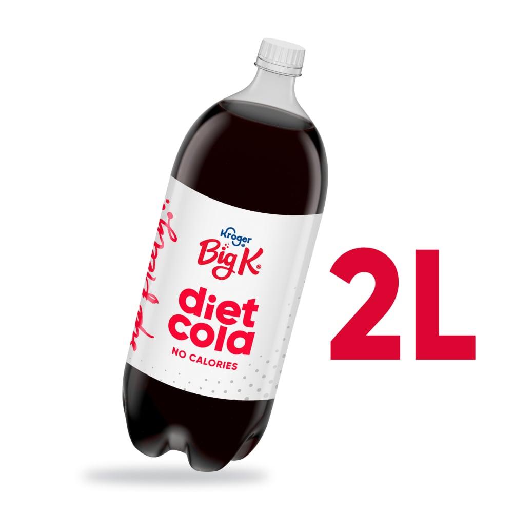 King Soopers - Big K® Diet Cola Soda, 2 L
