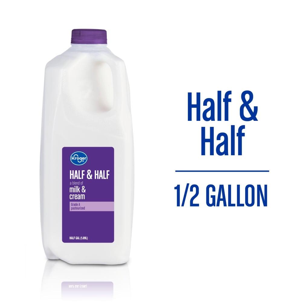 Kroger - Kroger® Half & Half, 1/2 gal