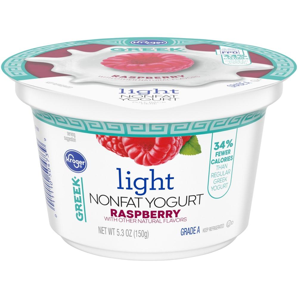 Raspberry Light Nonfat Greek Yogurt