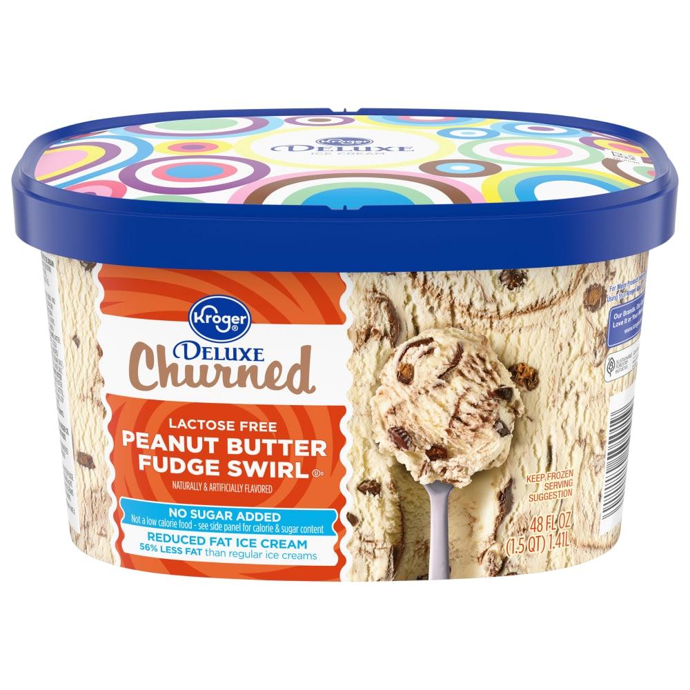 Fudge Swirl Ice Cream