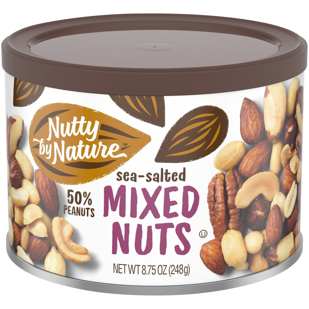 Smith's Food and Drug - Nutty by Nature Sea-Salted Mixed