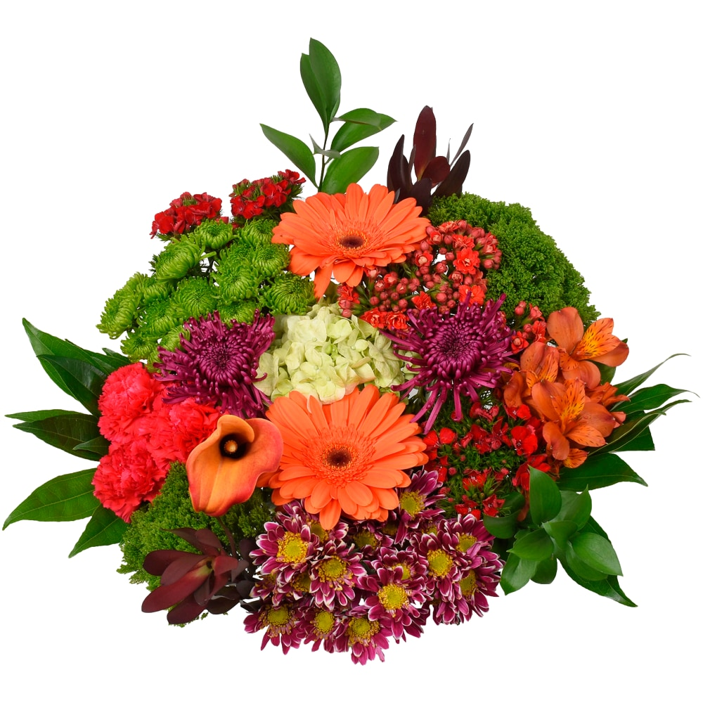 Fred Meyer Bloom Haus Concerto Bouquet White Blue Gray Green Theme B 27 Stems