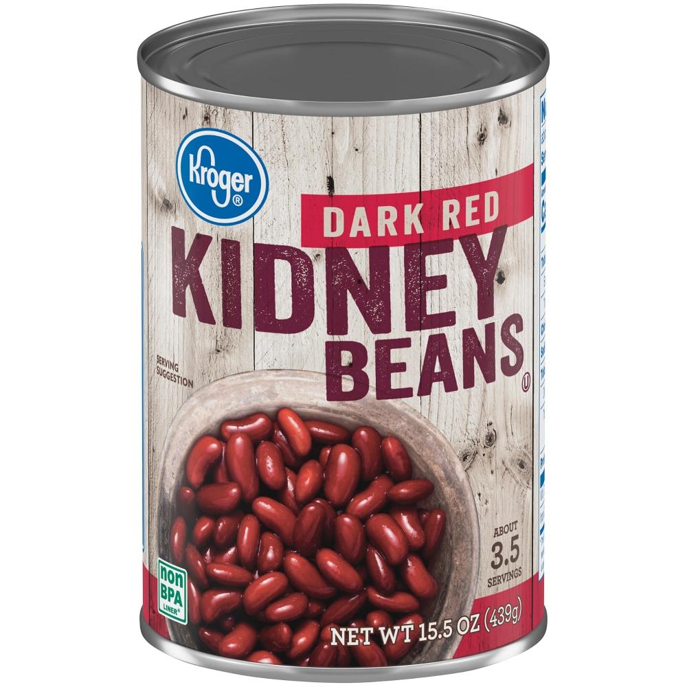 Metro Market Kroger Dark Red Kidney Beans 15 5 Oz