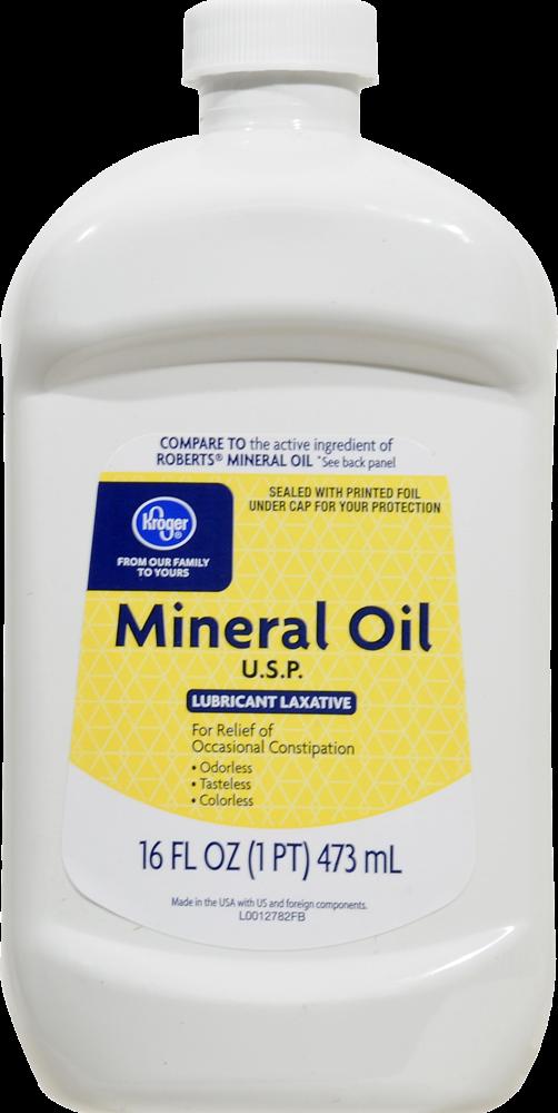 Kroger Mineral Oil Perspective Front