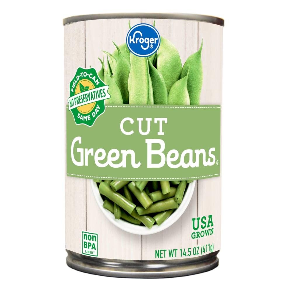 Kroger - Kroger® Cut Green Beans, 14.5 oz