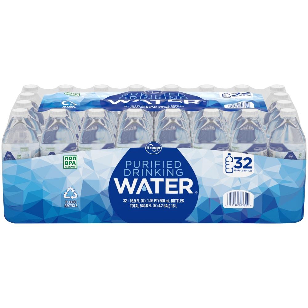 Kroger - Kroger® Purified Drinking Water, 32 bottles / 16 9 fl oz