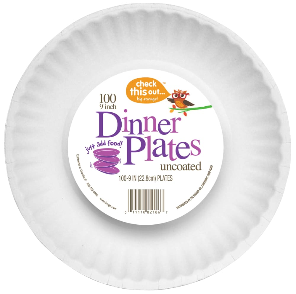 Ralphs - Check This Out... 9-Inch Paper Plates