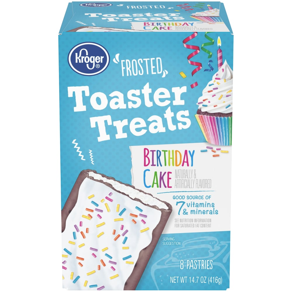 Outstanding Food 4 Less Kroger Birthday Cake Frosted Toaster Treats 8 Count Birthday Cards Printable Opercafe Filternl