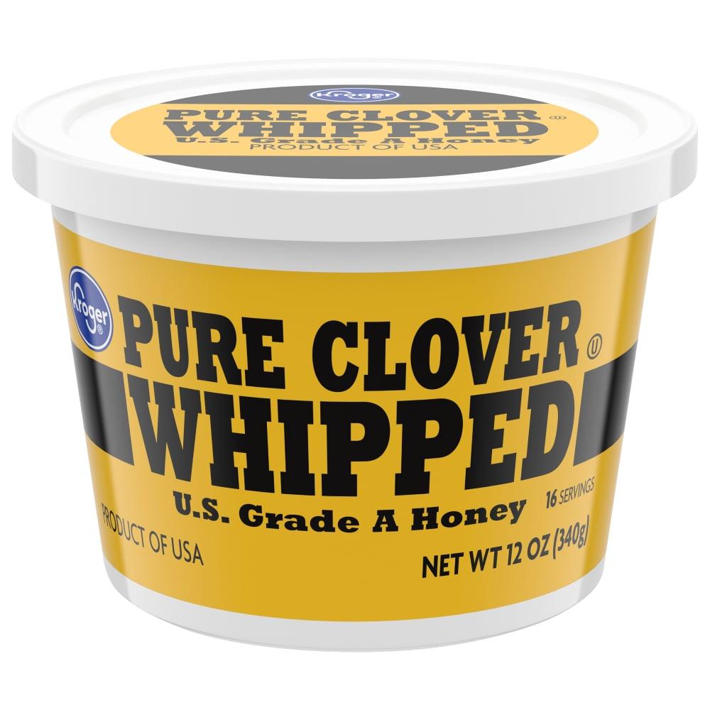 Fred Meyer - Kroger Whipped Pure Clover Honey Tub, 12 oz