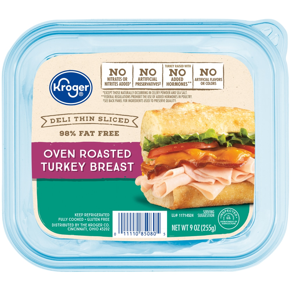 Kroger Deli Thin Sliced Oven Roasted Turkey Breast 9 Oz Kroger Shop our deli department at kroger. kroger deli thin sliced oven roasted turkey breast 9 oz