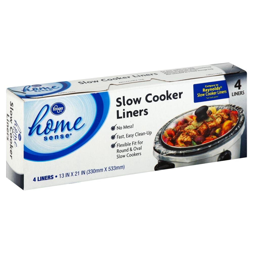 Kroger Slow Cooker Liners 4 Ct