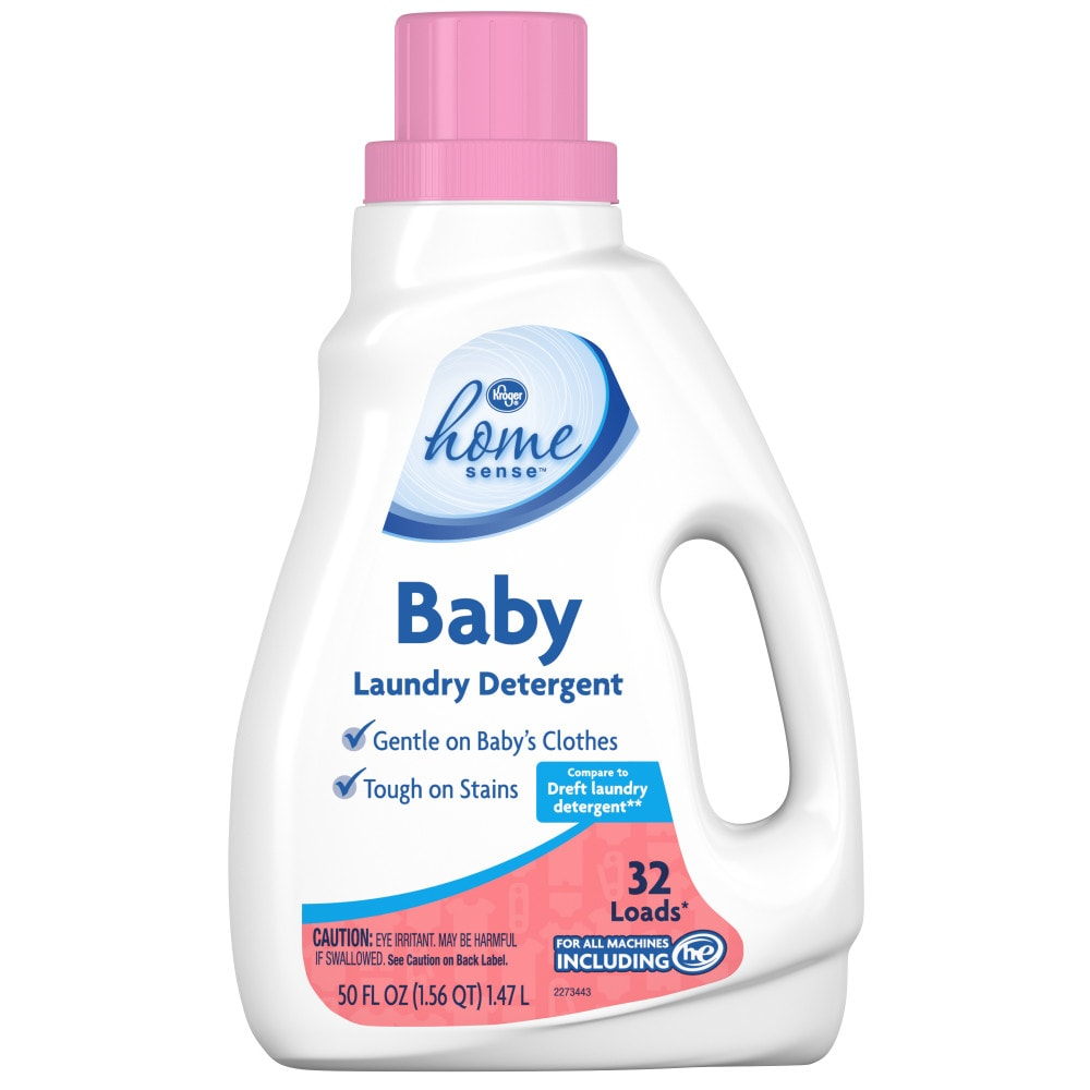 kroger kroger home sense baby laundry detergent