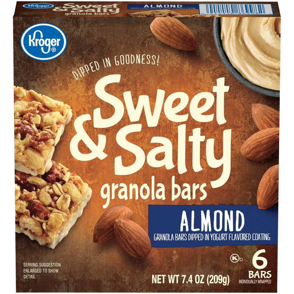 Kroger - Kroger® Sweet & Salty Almond Granola Bars, 6 ct