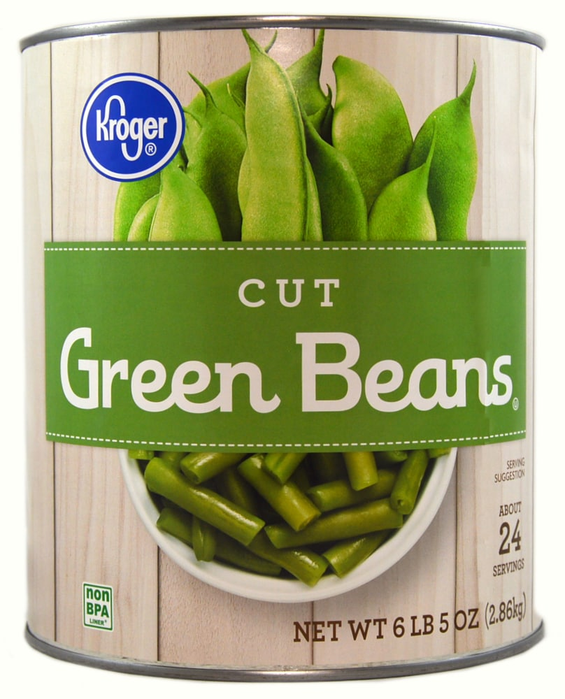 Kroger - Kroger® Cut Green Beans, 6 lb 5 oz