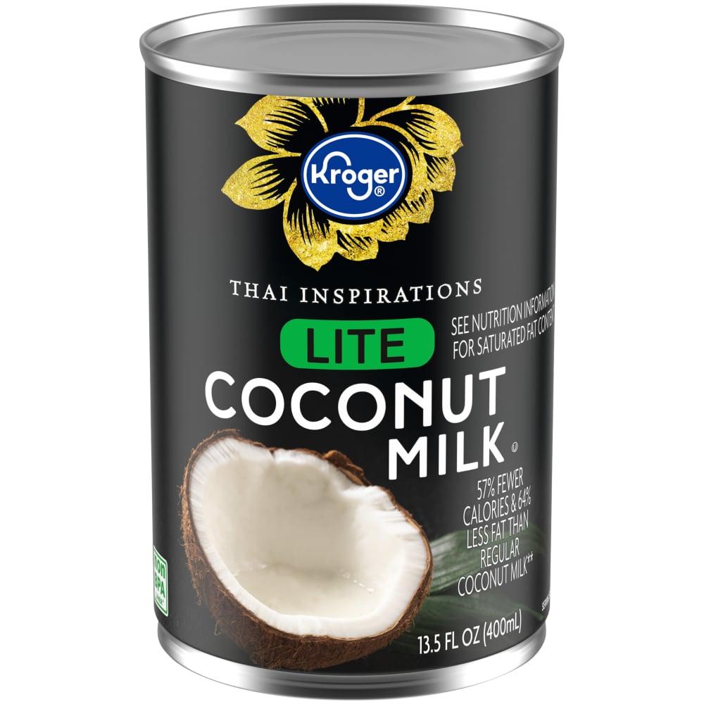 Kroger Kroger Lite Coconut Milk 13 5 Fl Oz