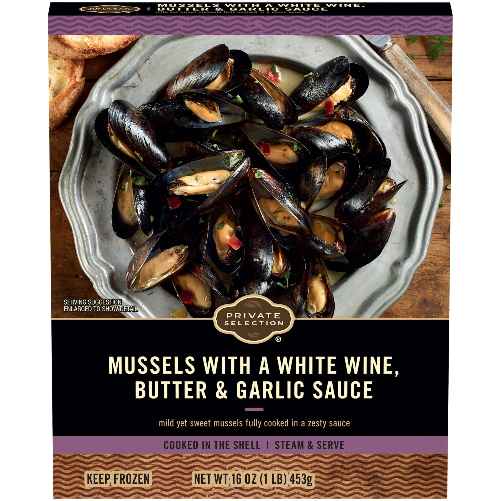 Mussels with a White Wine Butter