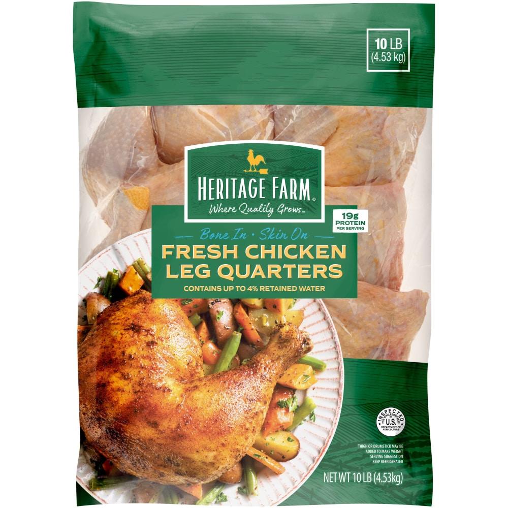 Kroger Heritage Farm Chicken Leg Quarters