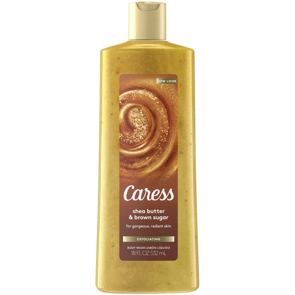 Kroger Caress Shea Butter Brown Sugar Exfoliating Body Wash 18 Fl Oz