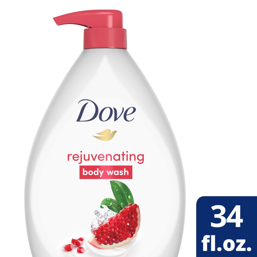 Fry S Food Stores Dove Go Fresh Pomegranate Lemon Verbena Body Wash Pump 34 Fl Oz