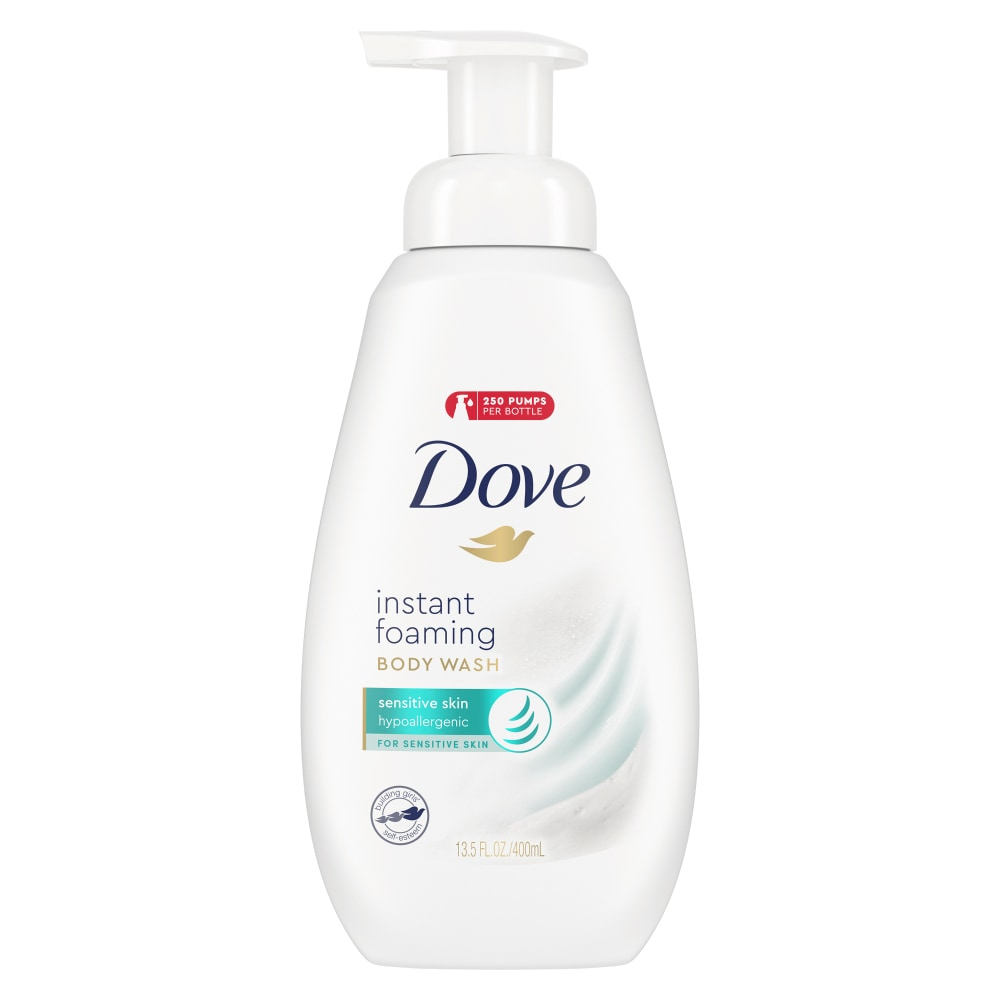 King Soopers Dove Sensitive Skin Instant Foaming Body Wash Pump 13 5 Fl Oz