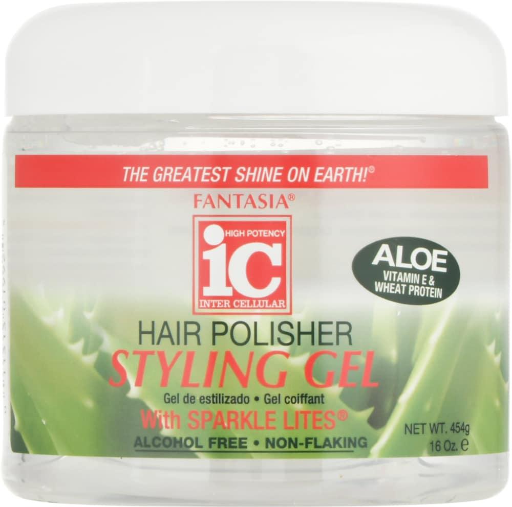 Food 4 Less Fantasia Ic Hair Polisher Styling Gel With Aloe 16 Oz