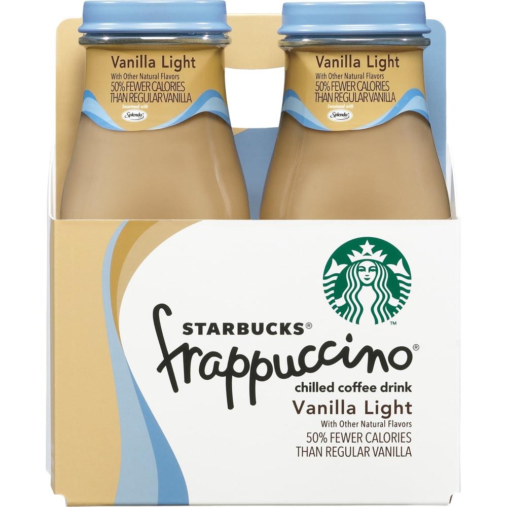 Starbucks Vanilla Light Frappuccino Perspective: Front