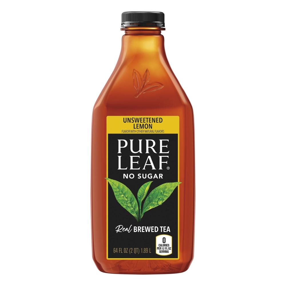 Ralphs - Pure Leaf Unsweetened Black Tea with Lemon Iced Tea, 64 fl oz