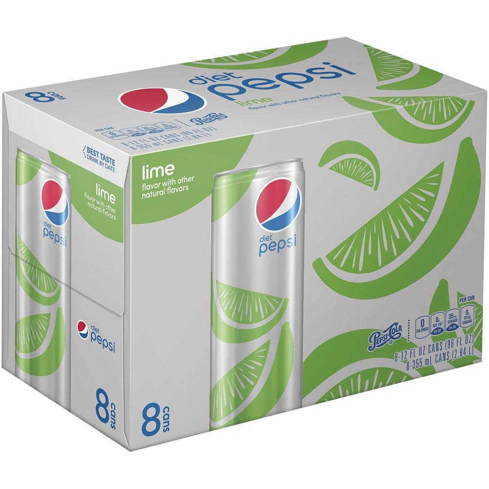 Kroger Diet Pepsi Lime Soda