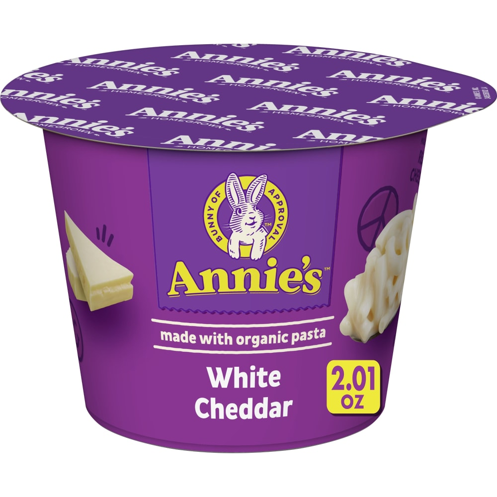 annies white cheddar mac and cheese calories