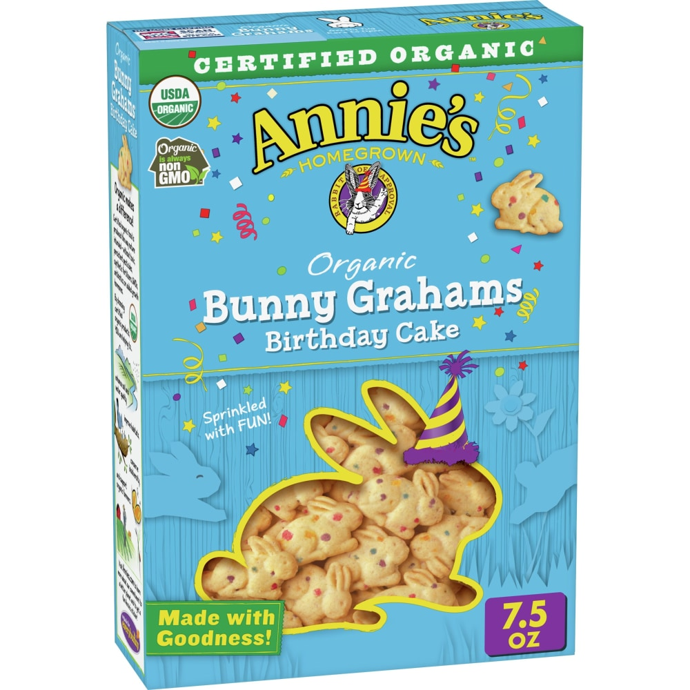 King Soopers - Annie's Homegrown Organic Birthday Cake Bunny Grahams