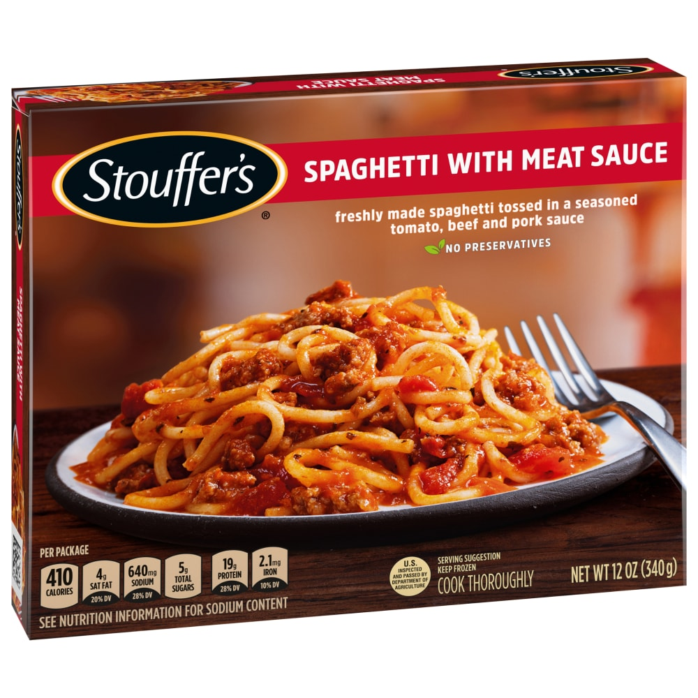 King Soopers Stouffer S Classics Spaghetti With Meat Sauce