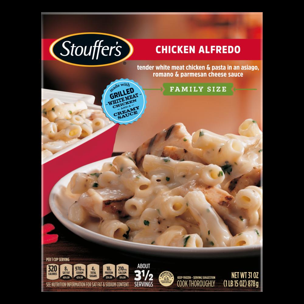 Chicken Alfredo Frozen