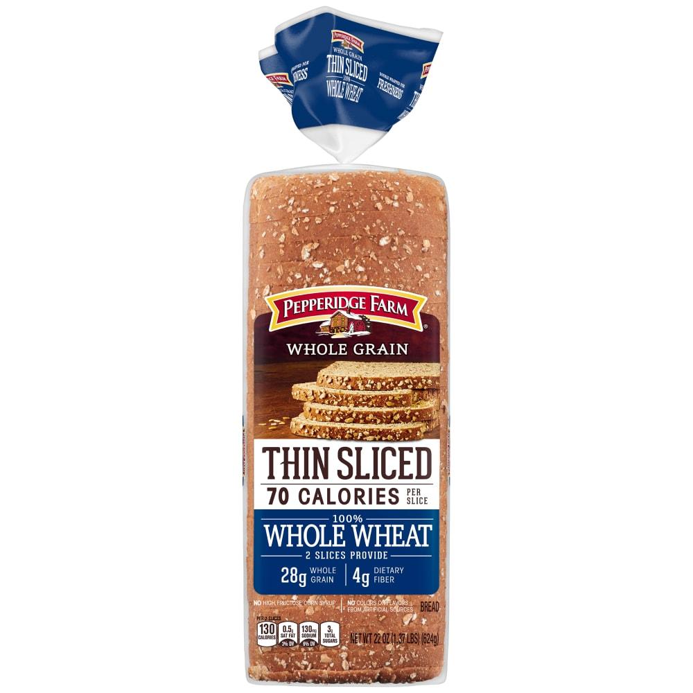 Pepperidge Farm Thin Sliced Whole Wheat