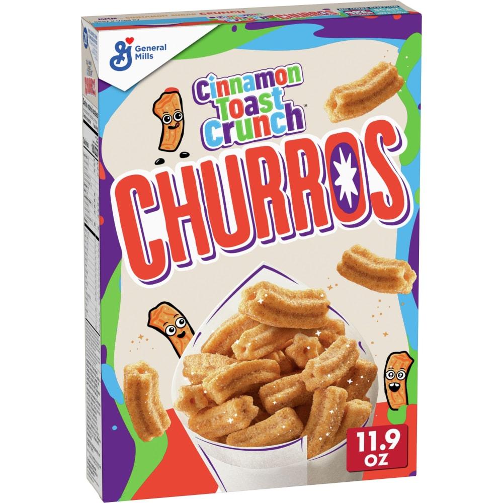 Cinnamon Toast Crunch Churros Wheat