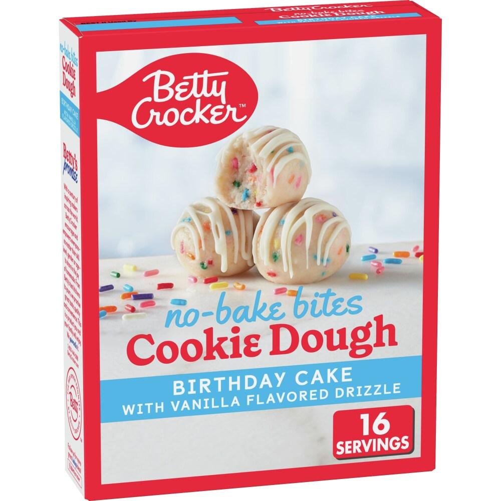 Amazing Kroger Betty Crocker No Bake Birthday Cake Cookie Dough Bites Funny Birthday Cards Online Elaedamsfinfo