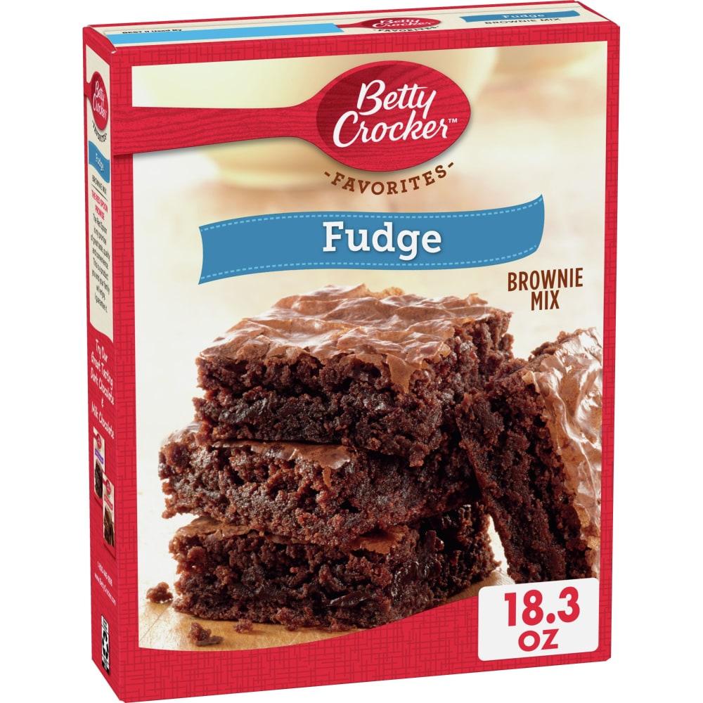 Kroger Betty Crocker Brownie Mix Fudge Family Size