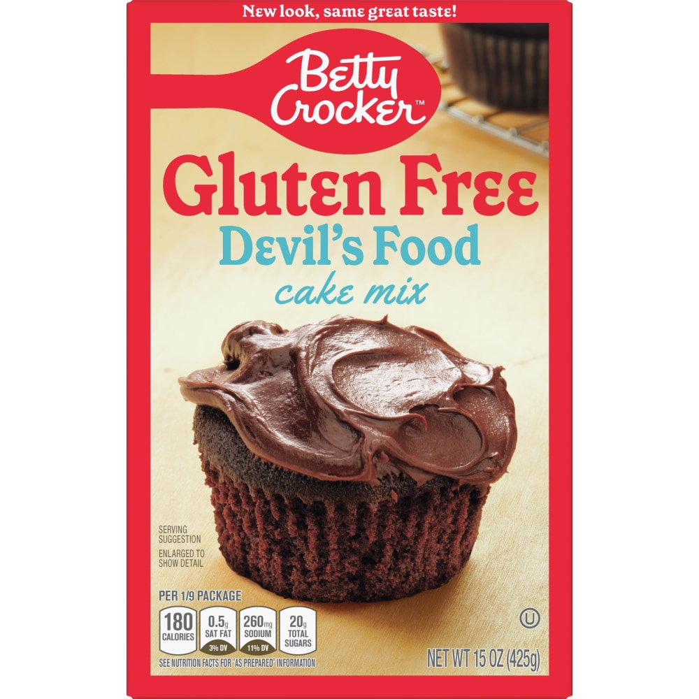 Kroger - Betty Crocker Gluten Free Devil\'s Food Cake Mix, 15 oz
