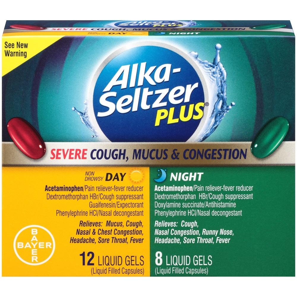 Pick 'n Save - Alka-Seltzer Plus Severe Cough Mucus