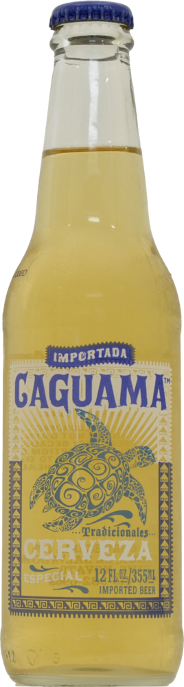 pay less caguama cerveza bottle