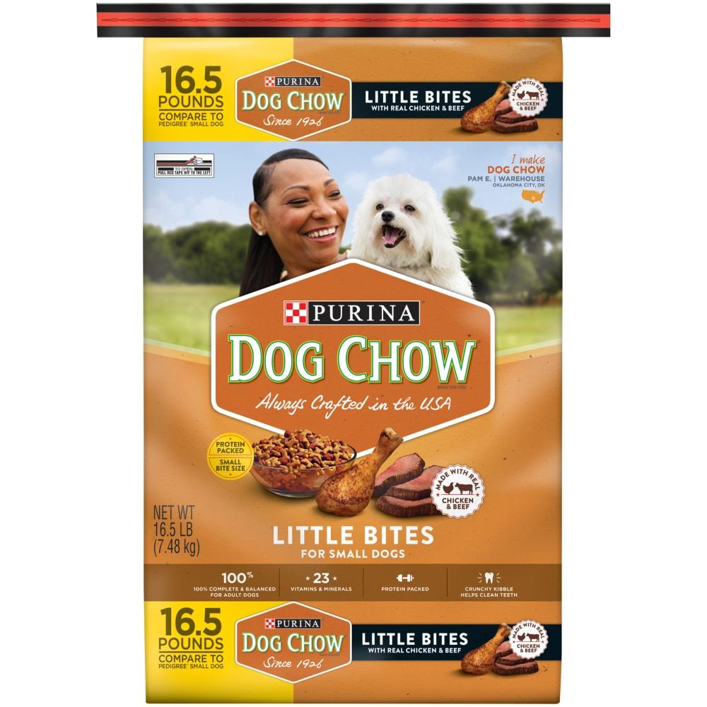 Dog Chow Little Bites Real Chicken \u0026
